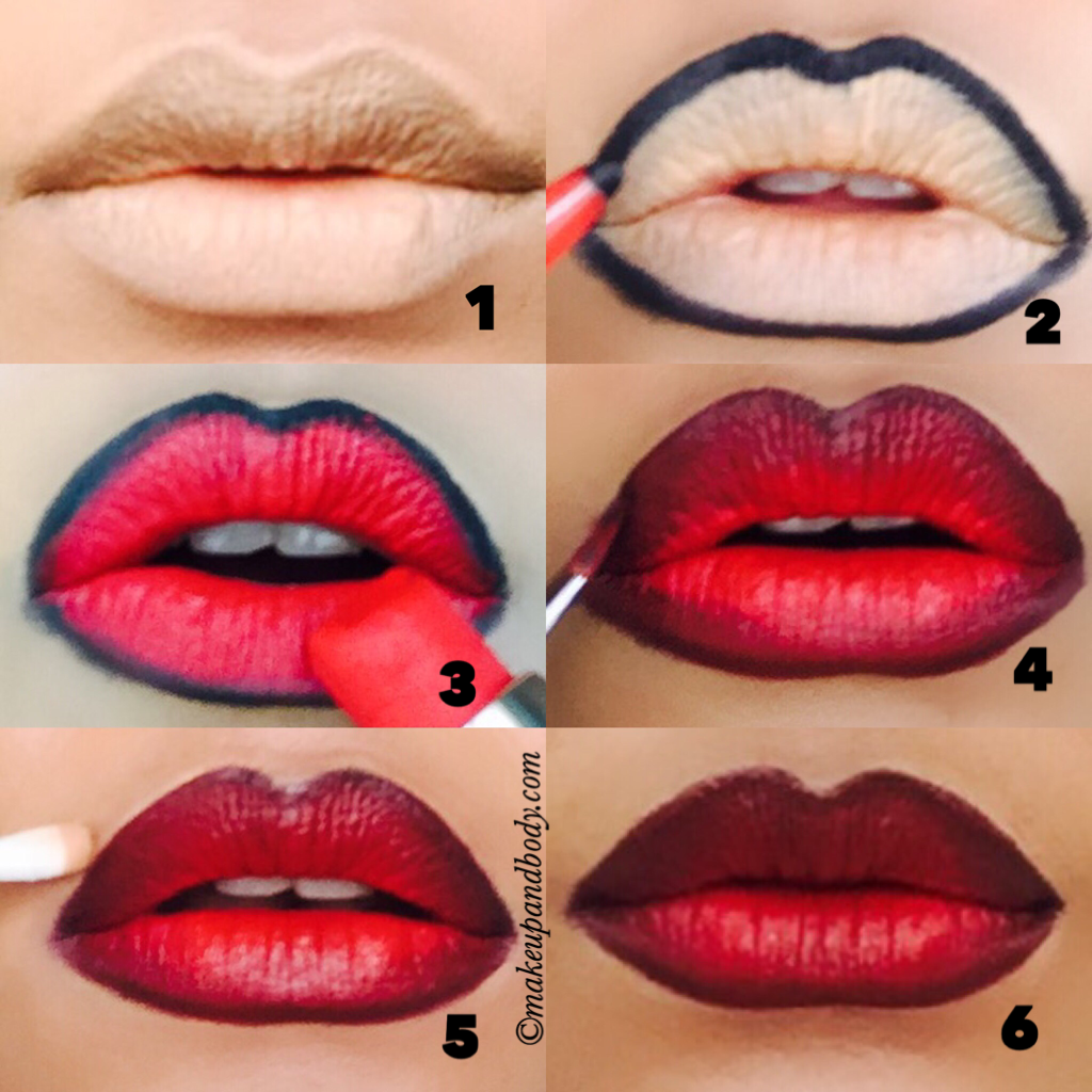 Sexy Ombre Lips Tutorial