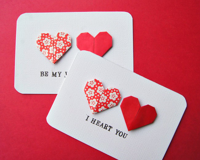 Origami-Heart-Cards