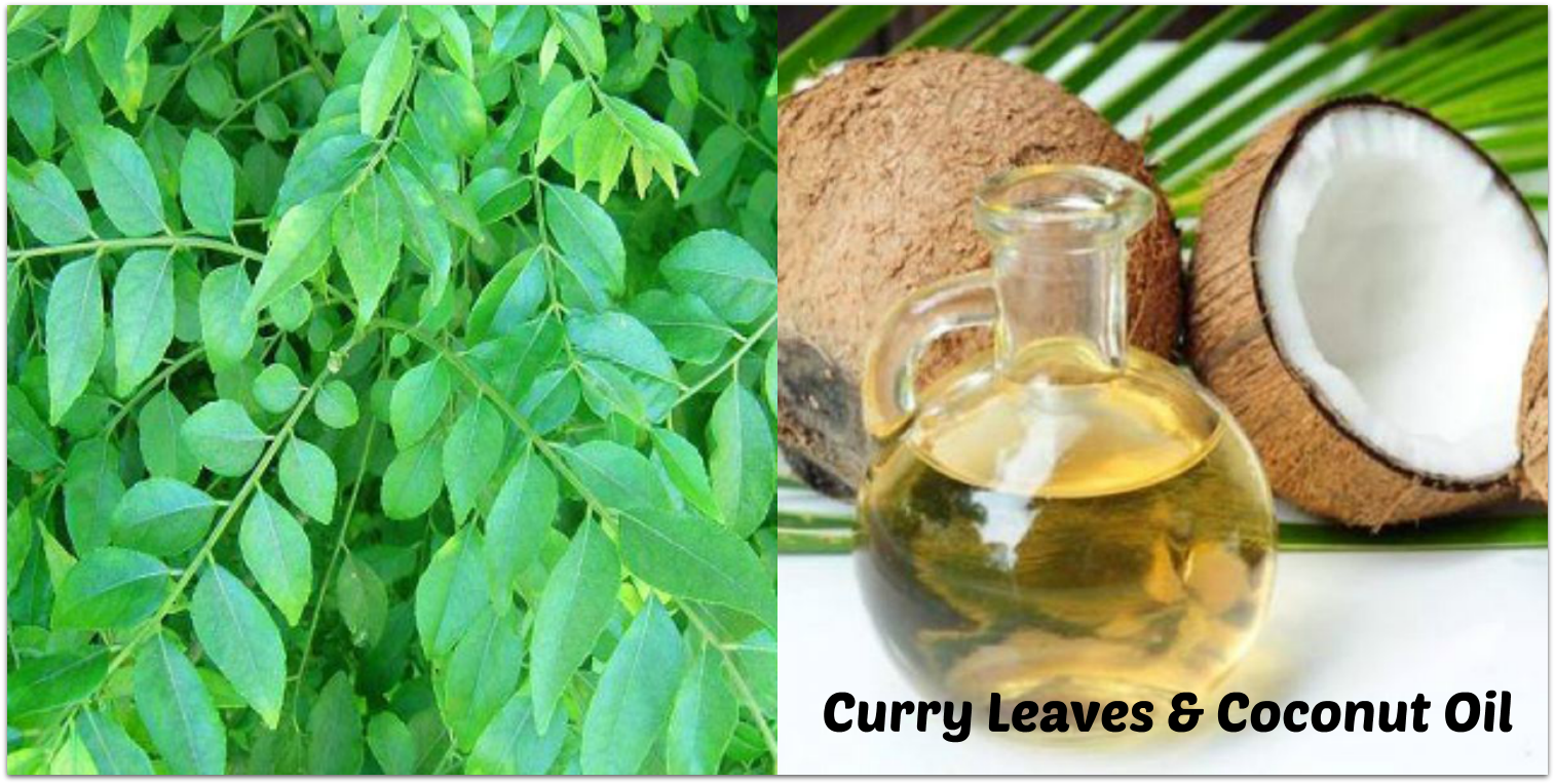 Curry Leaves & Coconut Oil