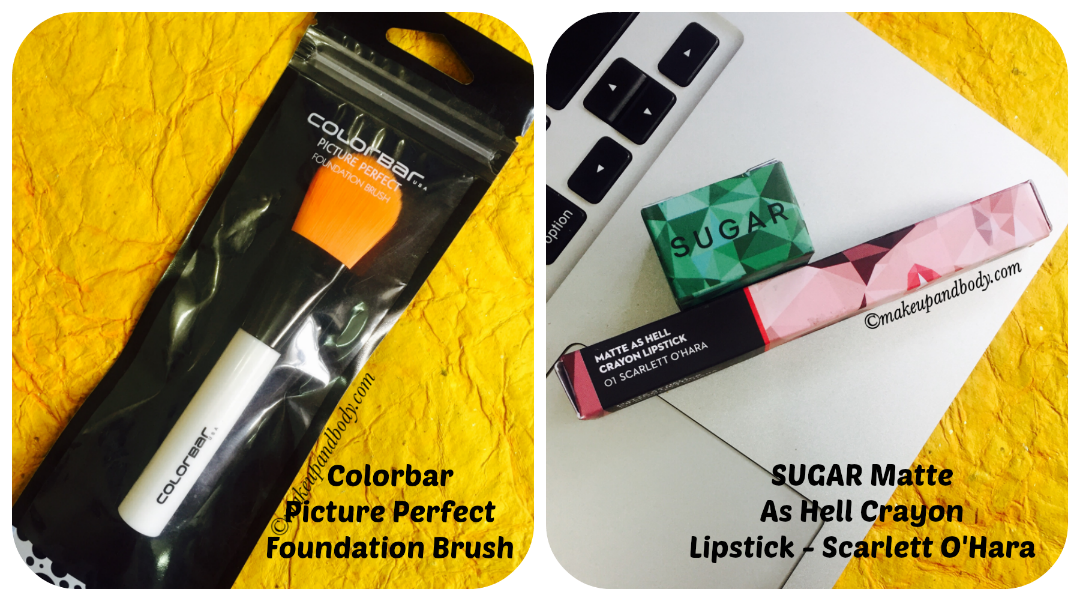 Nykaa Shopping haul Collage 3