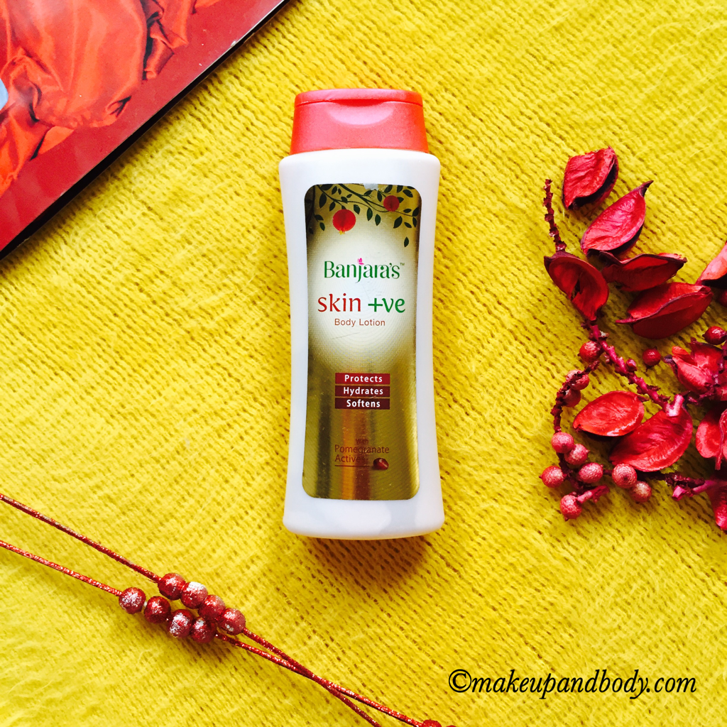 BANJARA'S SKIN +VE BODY LOTION : REVIEW