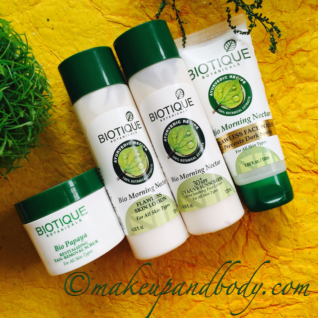 FLAWLESS SKIN REGIMEN WITH BIOTIQUE SKINCARE PRODUCTS