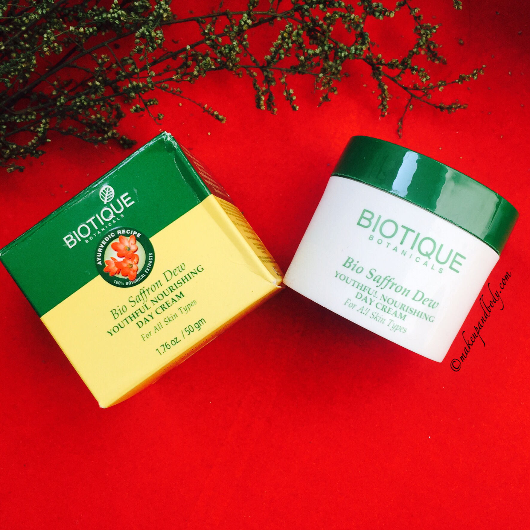 Bio Saffron Dew Youthful Nourishing Day Cream