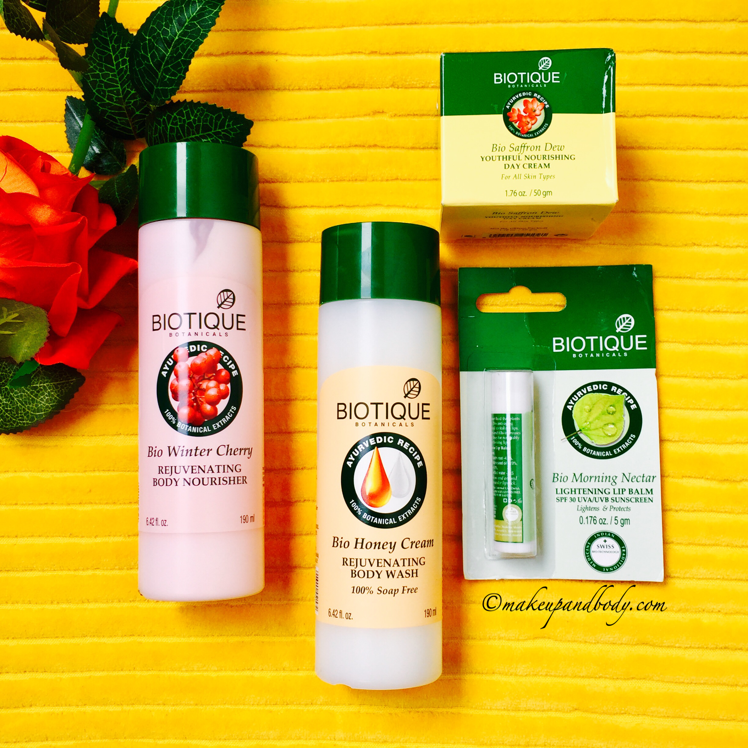 Pamper your skin with Biotique this winter