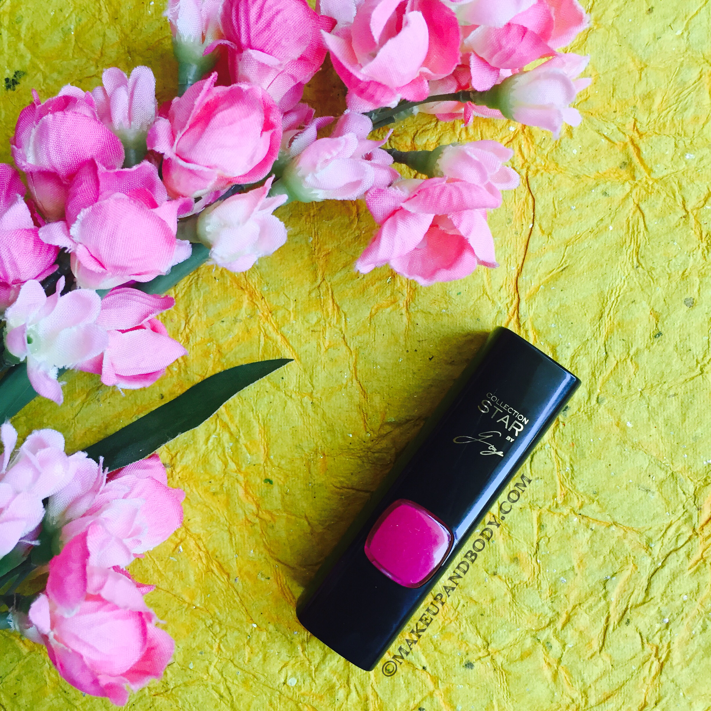 L'OREAL COLLECTIONS STAR PURE REDS LIPSTICK IN PURE AMARANTHE - REVIEW