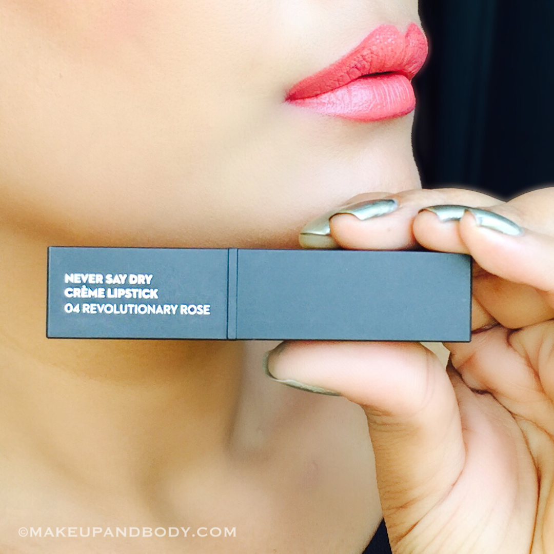 SUGAR COSMETICS NEVER SAY DRY CRÈME LIPSTICKS REVIEW AND SWATCHES