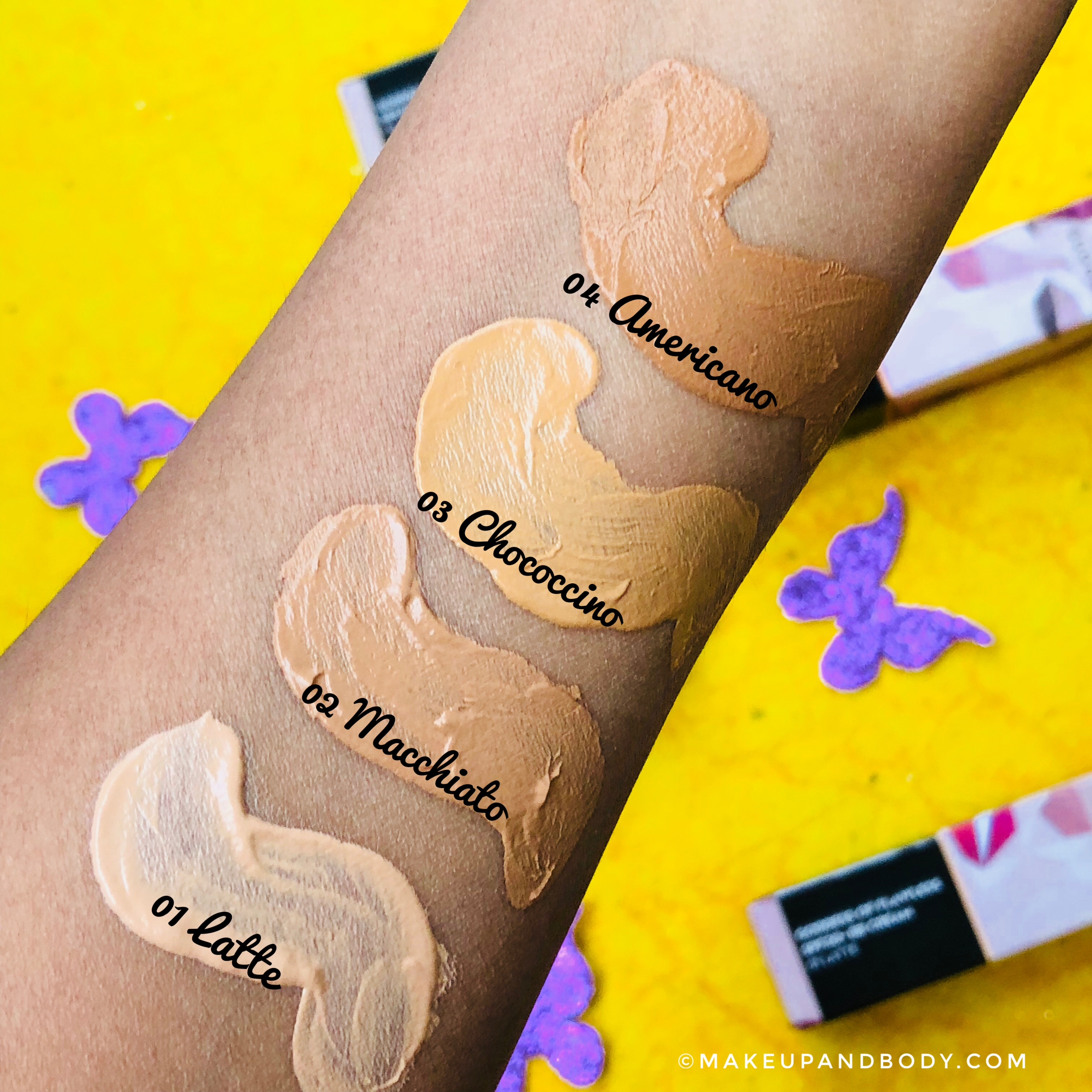 SUGAR Goddess Of Flawless SPF30+ BB Cream Review & Swatches for all 4 shades