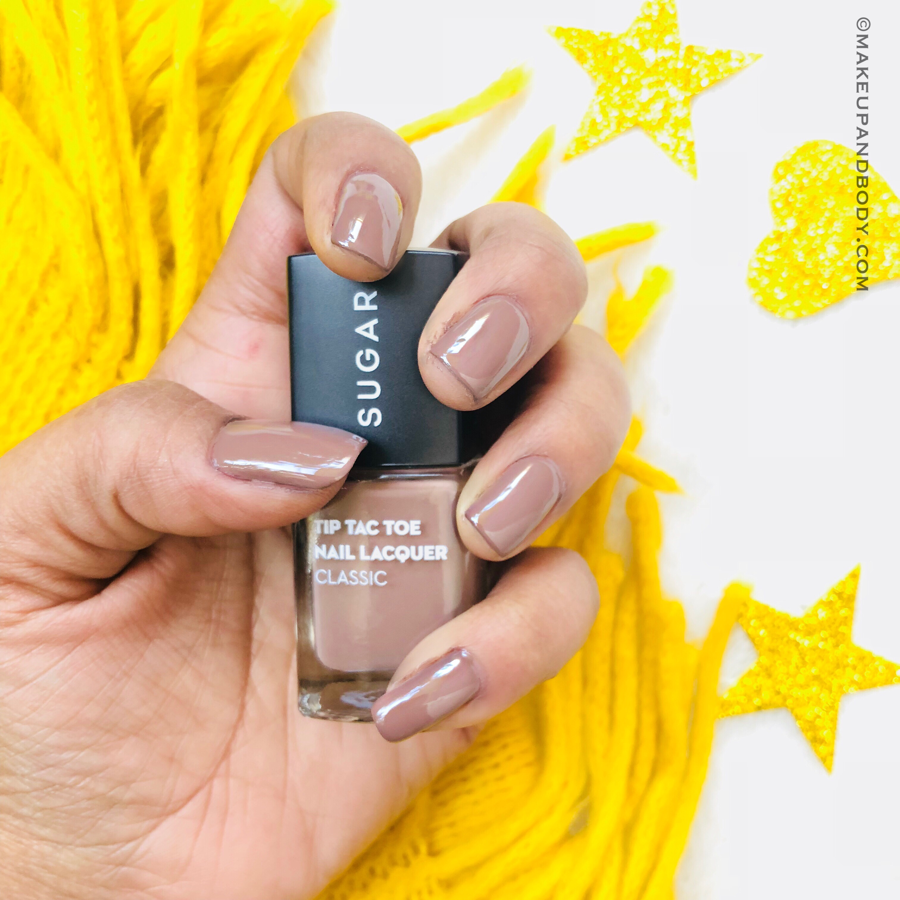SUGAR Tip Tac Toe Nail Lacquer - 046 To Taupe It All