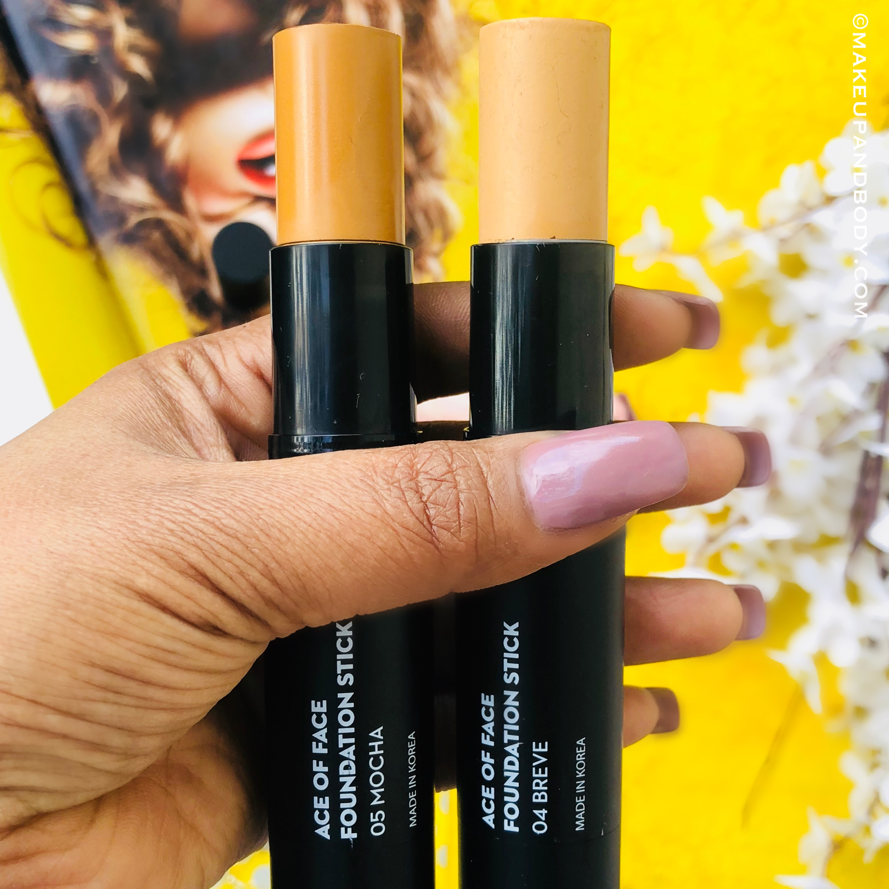 SUGAR Ace Of Face Foundation Stick - Review And Swatches