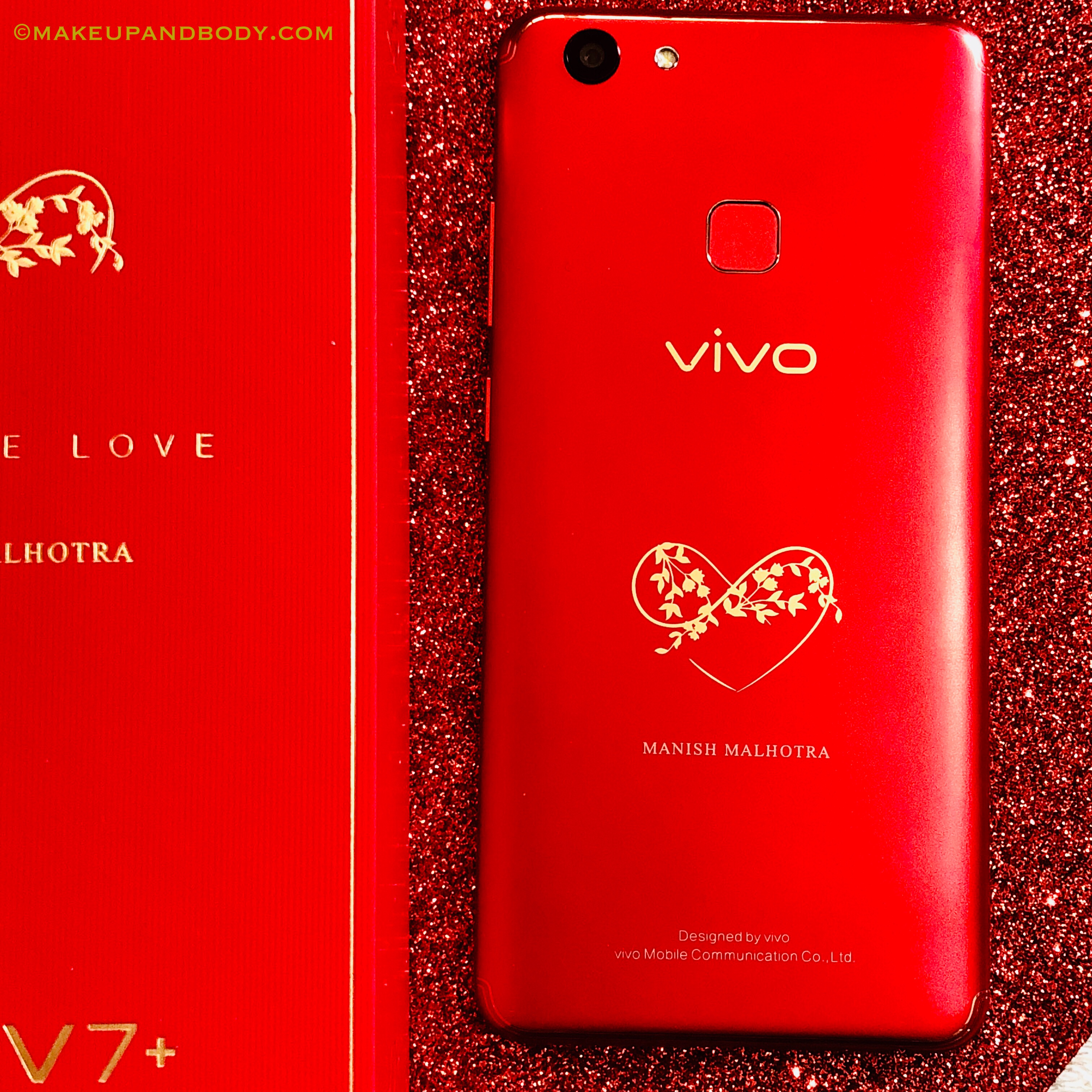 VIVO launches Vivo V7+ Infinite Red Limited Edition in collaboration with Manish Malhotra