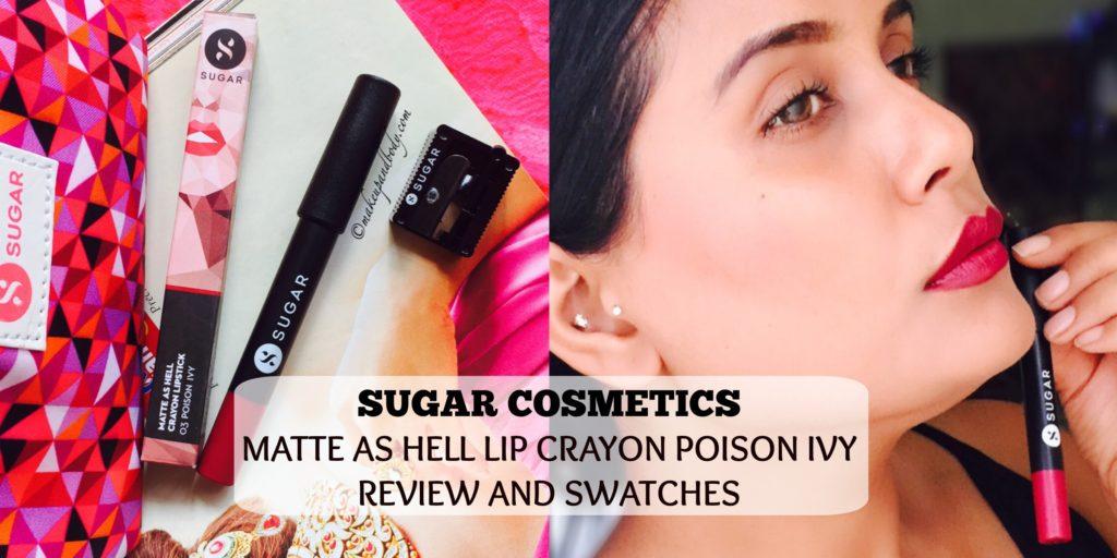 Sugar Cosmetics Matte As Hell Lip Crayon Poison Ivy
