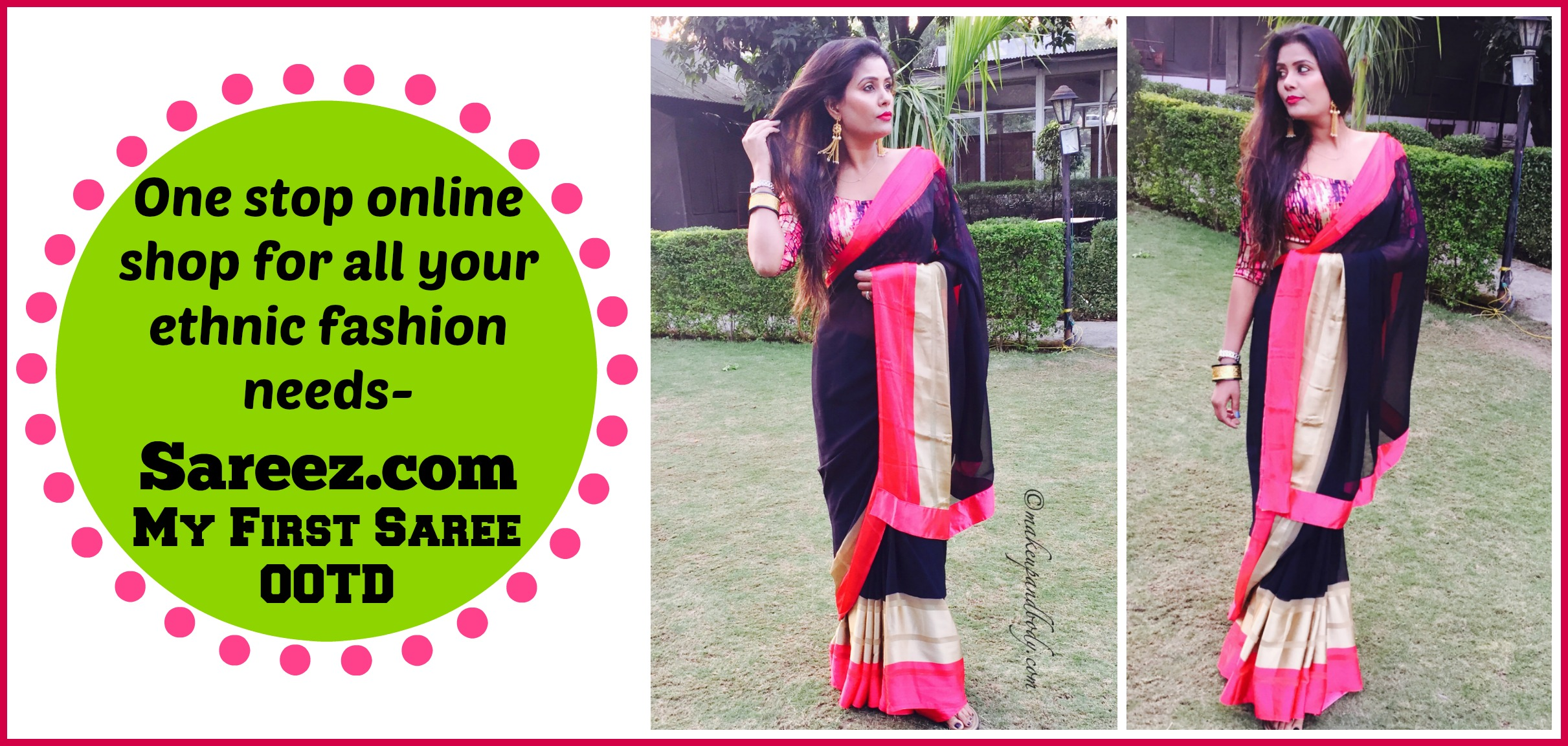 One stop online shop for all your ethnic fashion needs - Sareez.com – My First Saree OOTD