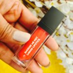 SUGAR COSMETICS SMUDGE ME NOT TANGERINE QUEEN 06-REVIEW AND SWATCHES