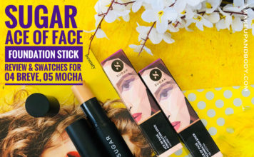 Sugar Cosmetics Ace of Face Foundation Stick Review