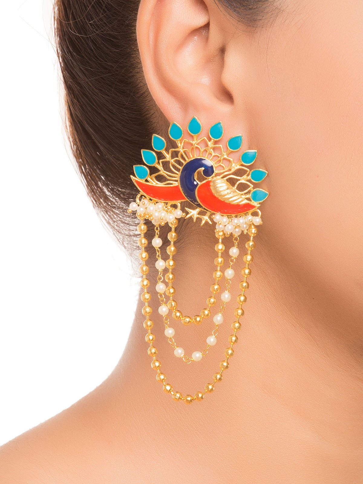 turquoise-blue-and-red-peacock-dangler-earrings_danglers_turquoise-blue-red_151807911811-40016adce75b39399f75411345e6e696