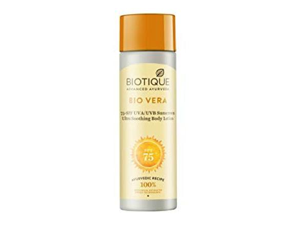 Biotique Bio Vera body lotion