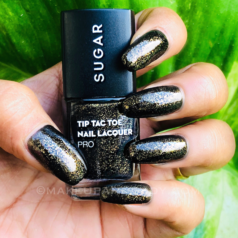 SUGAR The Arabian Nights Nail Tip Tac Toe Nail Lacquers Collection Review