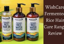 WishCare Fermented Rice Water Hair Care Range